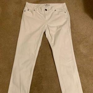 Vineyard Vines White Jeans Size 10